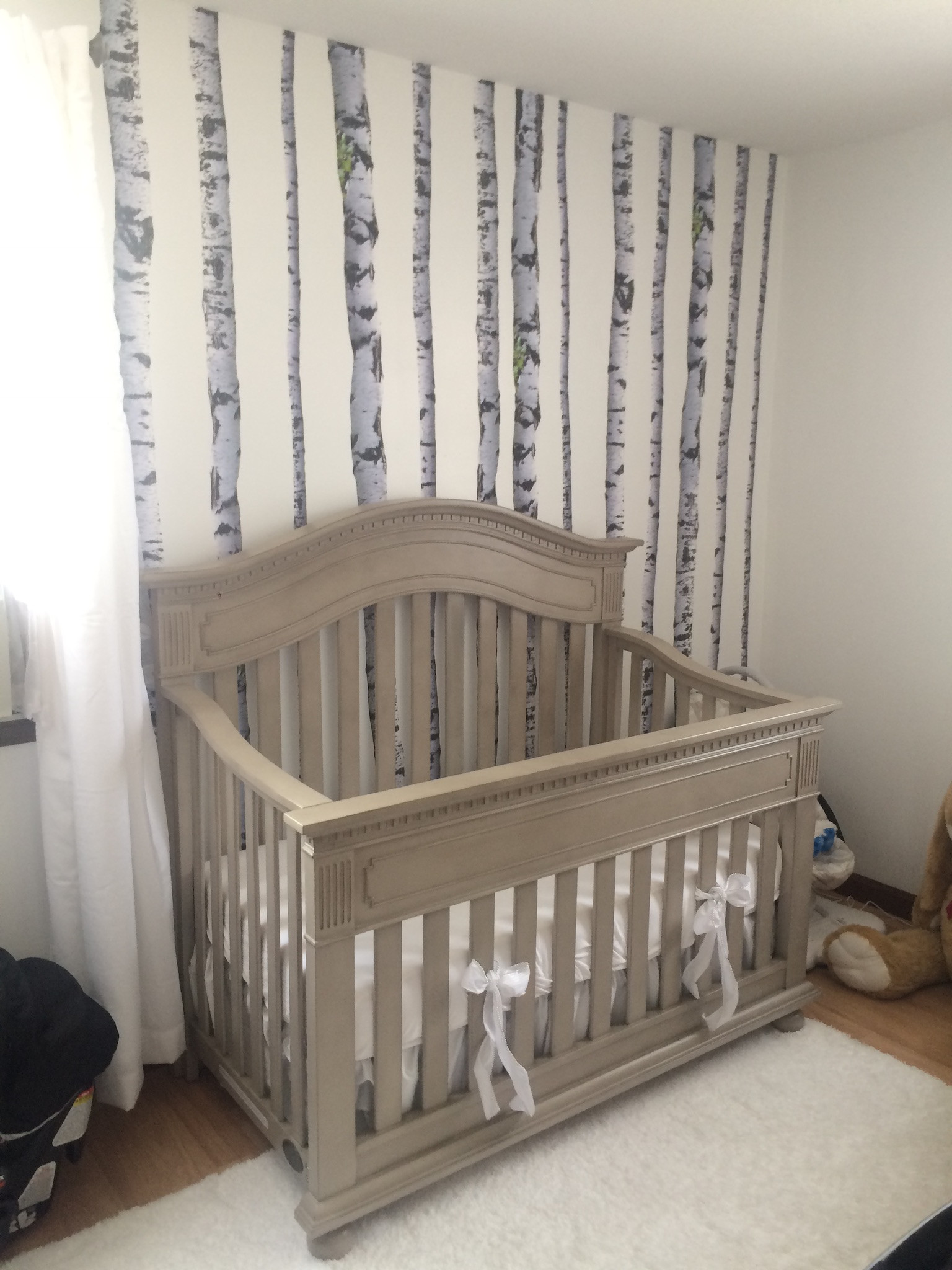 Dolce Babi Crib Convertible to Toddler Bed
