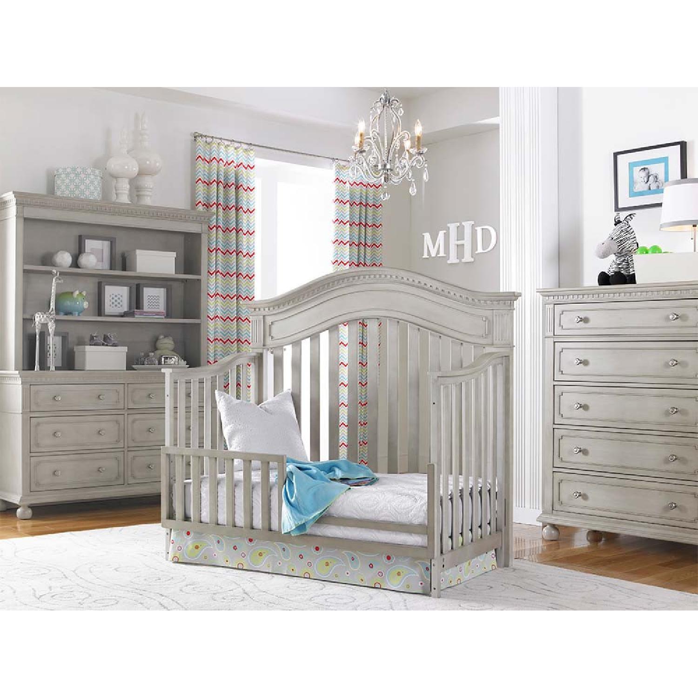Dolce Babi Crib Convertible to Toddler Bed - image-1