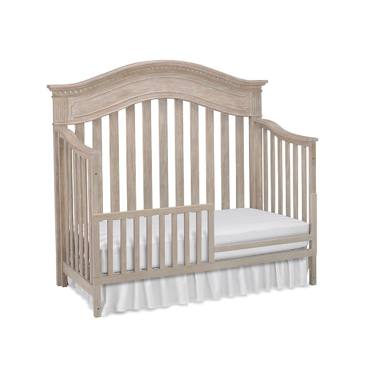 Dolce Babi Crib Convertible to Toddler Bed - image-0