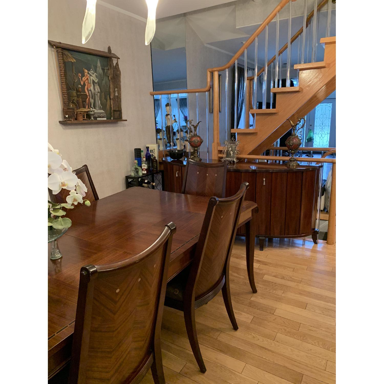 Solid Mahogany Wood 10-Piece Formal Dining Set - image-1