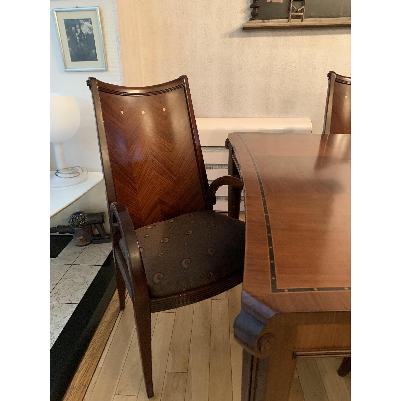 Solid Mahogany Wood 10-Piece Formal Dining Set - image-2