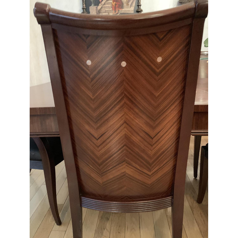 Solid Mahogany Wood 10-Piece Formal Dining Set - image-4