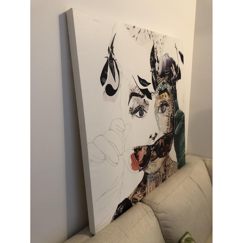Audrey Hepburn Painting by Ines Kouidis - image-2