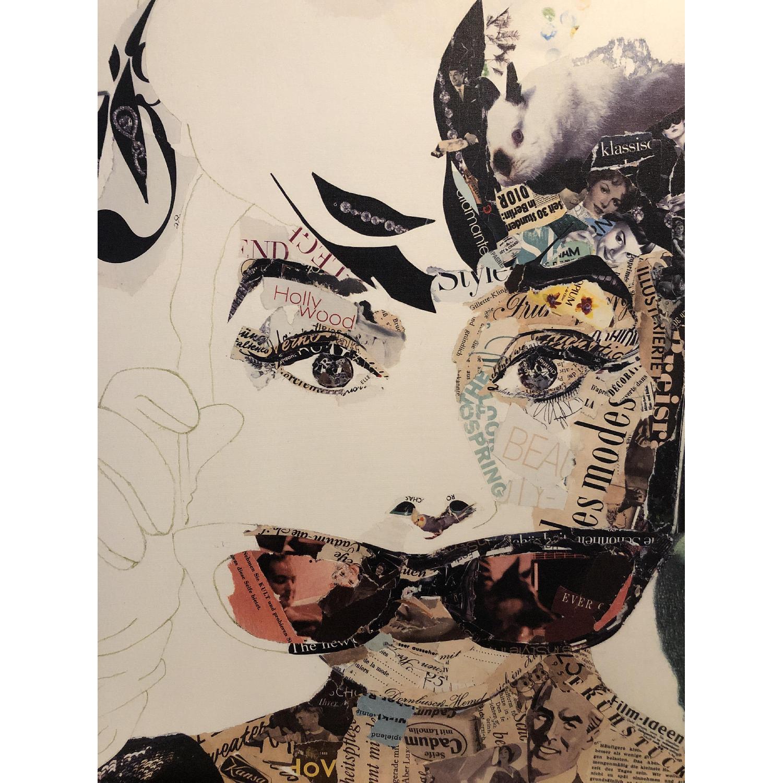 Audrey Hepburn Painting by Ines Kouidis - image-3