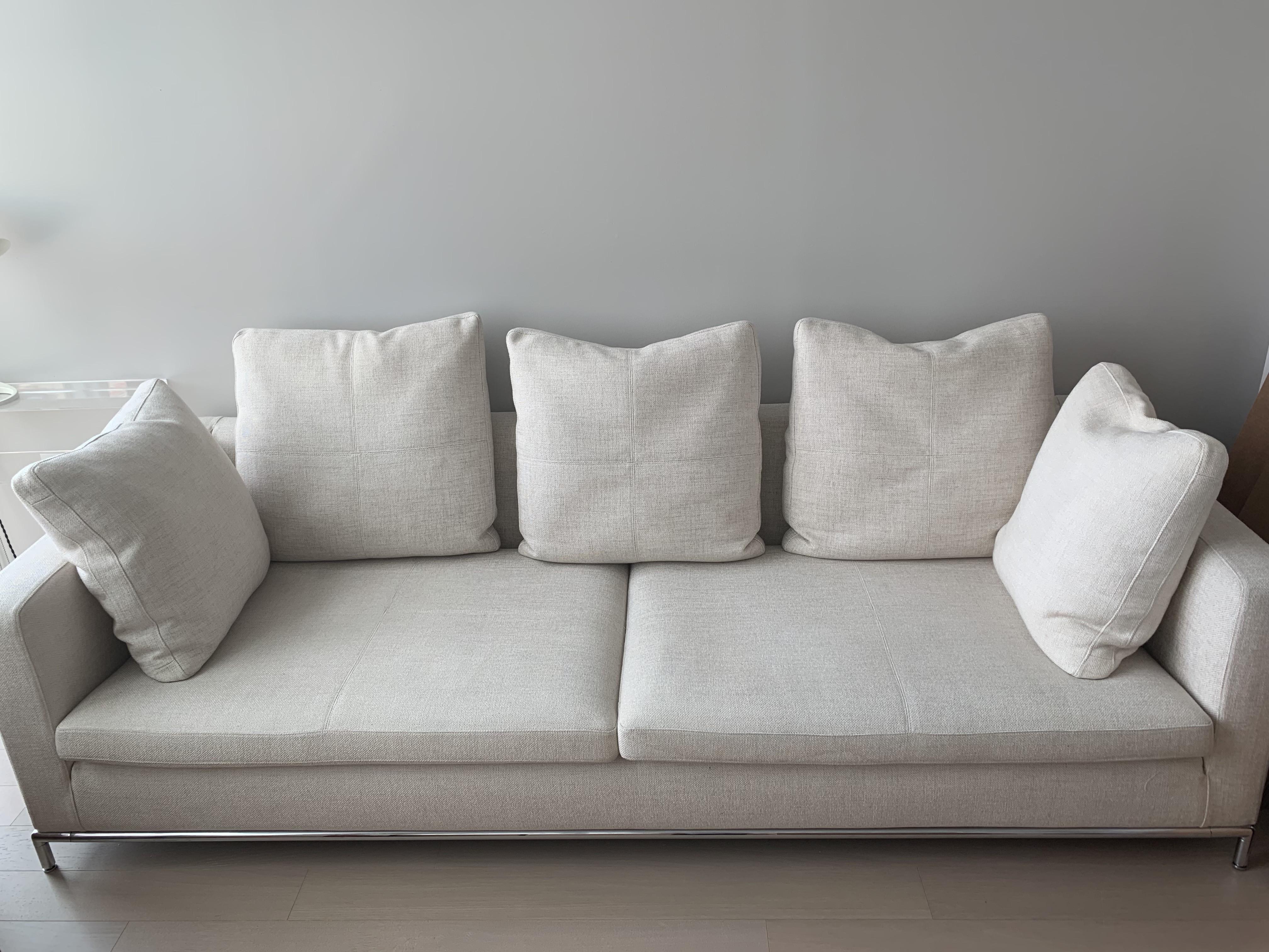 Natural Fabric Sofa