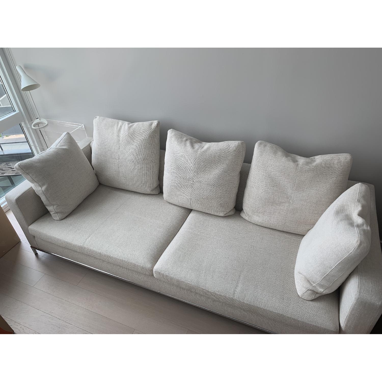 Natural Fabric Sofa - image-2
