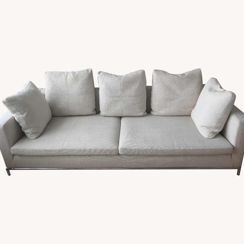 Natural Fabric Sofa - image-5