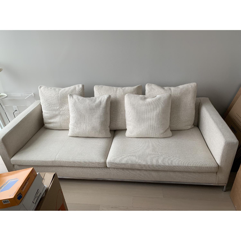 Natural Fabric Sofa - image-0