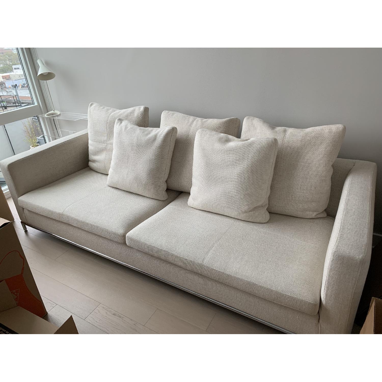 Natural Fabric Sofa - image-6
