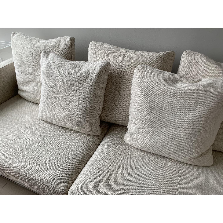 Natural Fabric Sofa - image-8