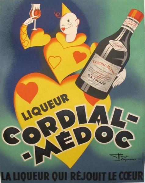Henri Le Monnier - Liqueur Cordial Medoc
