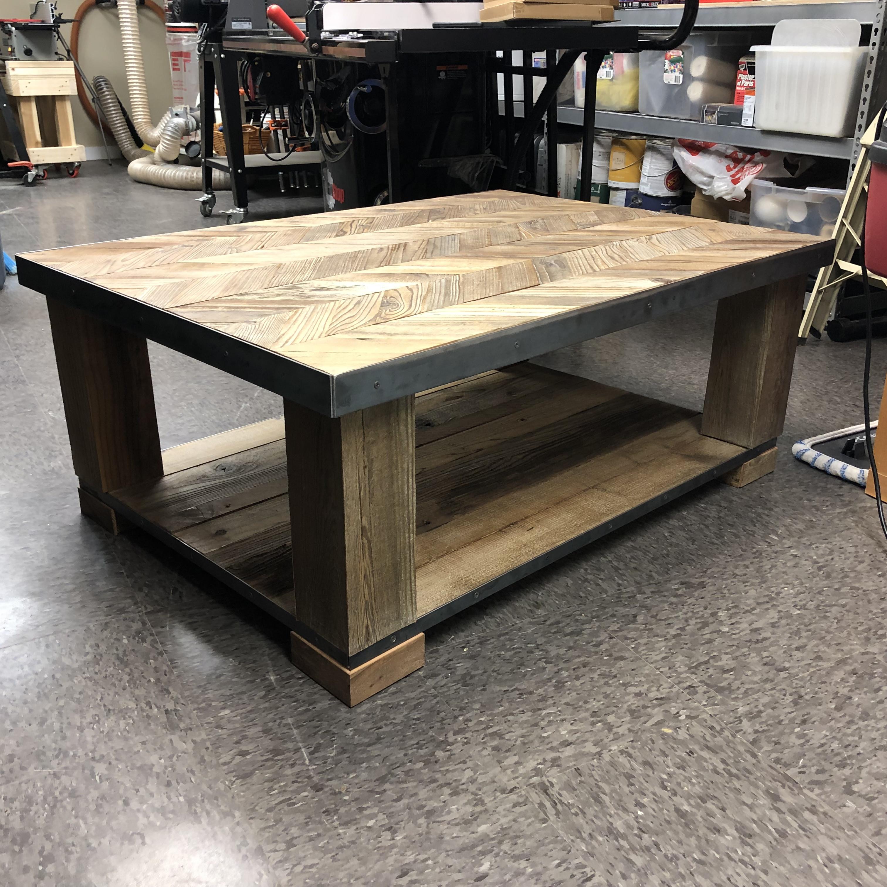 Artisan Rustic Coffee Table