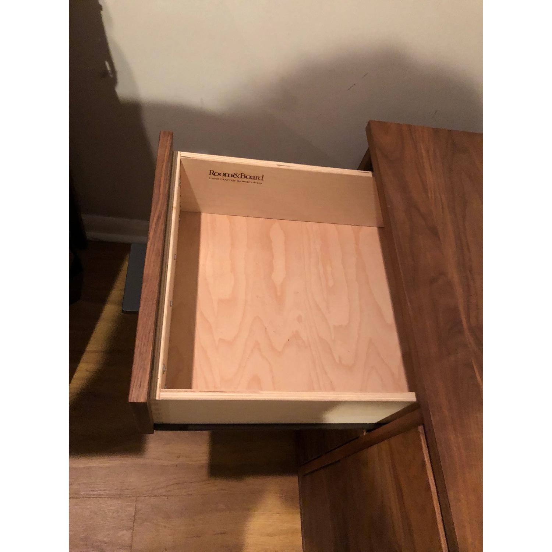 Room & Board Walnut File Cabinet - image-7