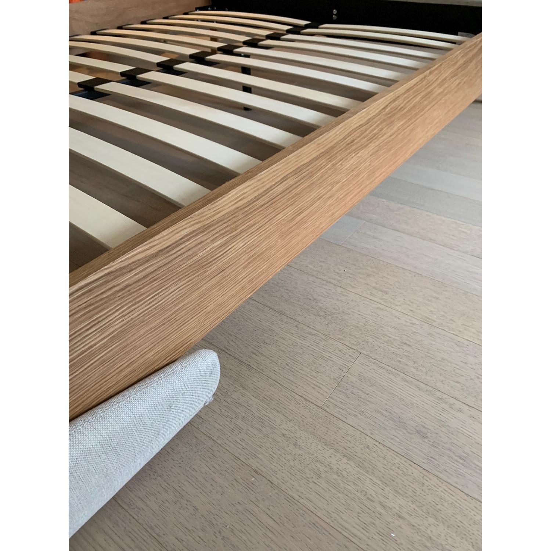 Palmer Upholstered Queen Platform Bed w/ Headboard - image-3