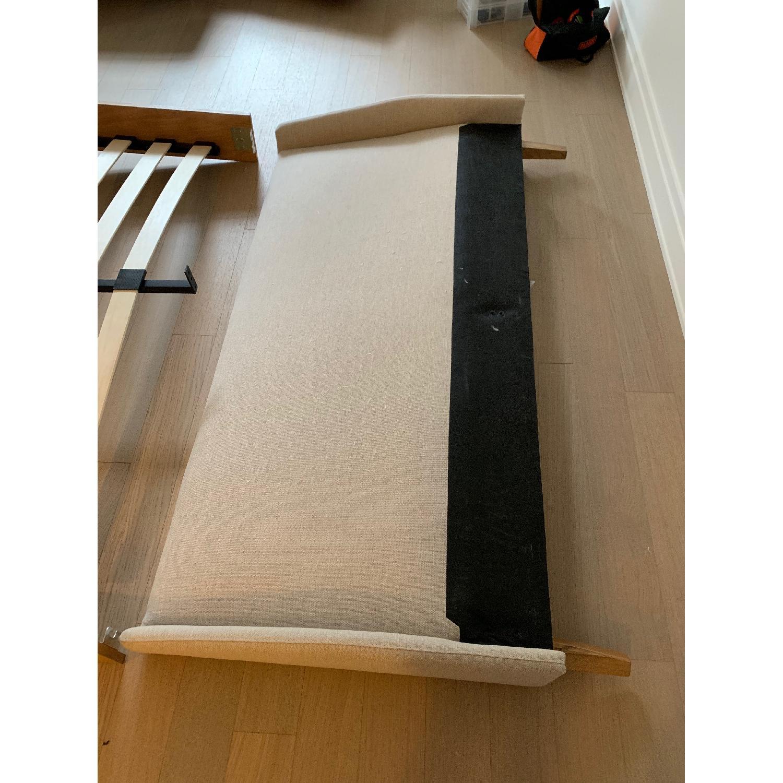 Palmer Upholstered Queen Platform Bed w/ Headboard - image-4