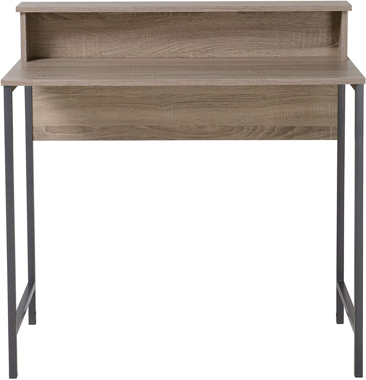 Homestar Computer Desk w/ Hutch in Reclaimed Wood