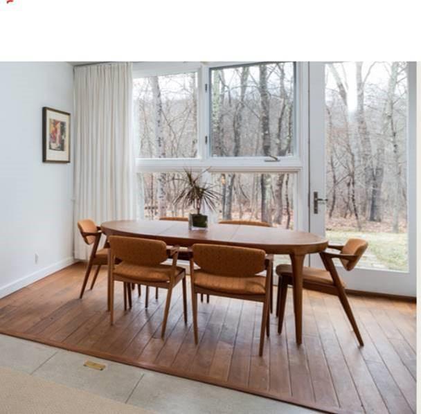 Kai Kristiansen Model 42 Danish Teak Dining Chairs