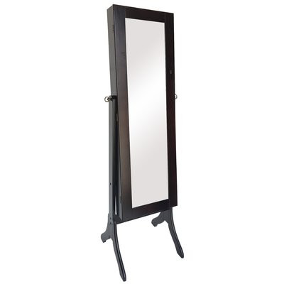 Andover Mills Jewelry Armoire w/ Mirror