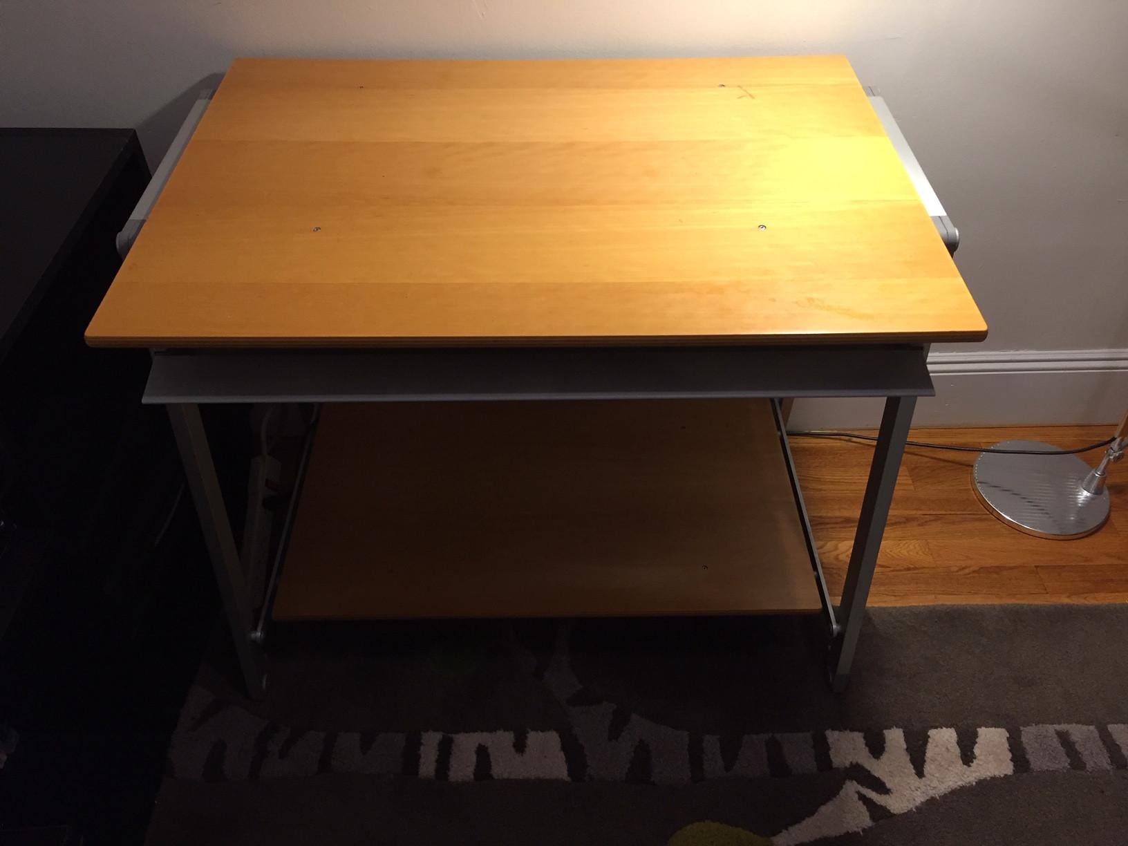Maple Veneer Desk