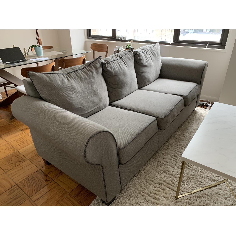 Bob's Ashton Grey Fabric Sofa - image-2