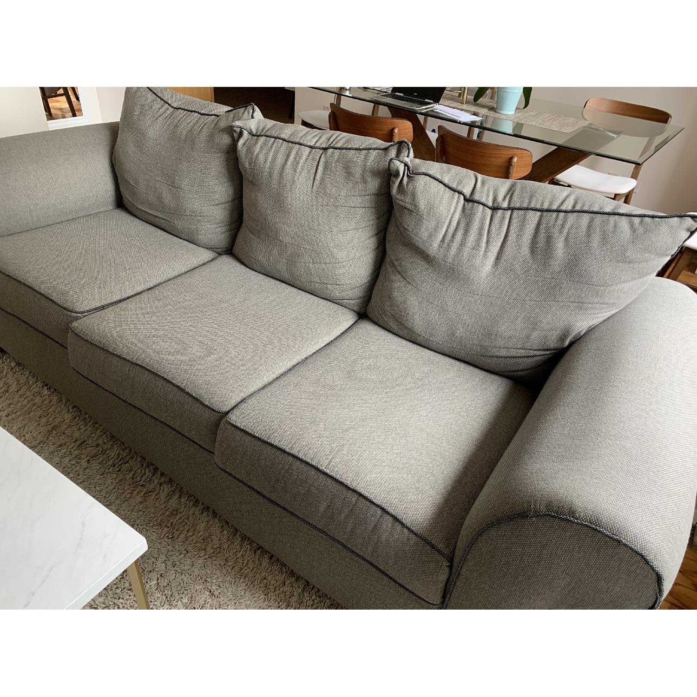 Bob's Ashton Grey Fabric Sofa - image-6