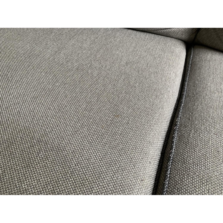 Bob's Ashton Grey Fabric Sofa - image-7