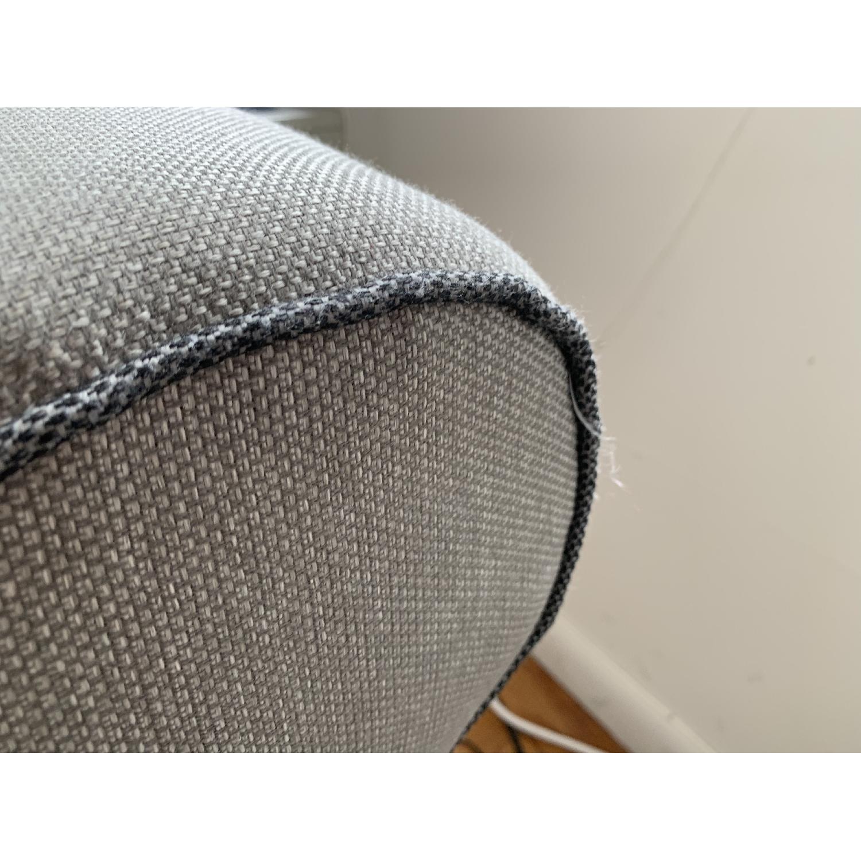 Bob's Ashton Grey Fabric Sofa - image-4
