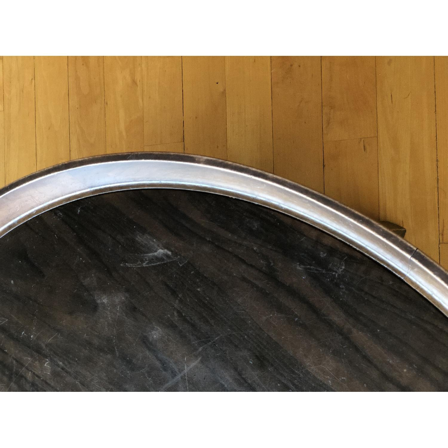 Antique Solid Wood Round Coffee Table - image-13