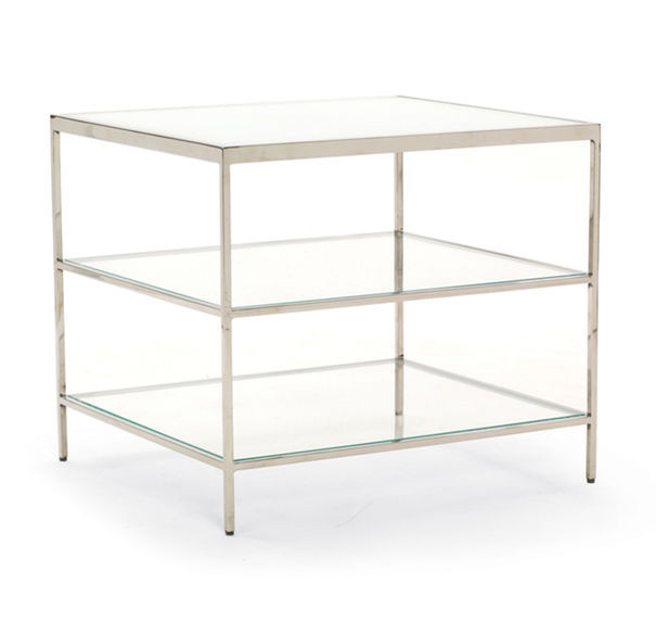 Mitchell Gold + Bob Williams Manning Glass Side Table
