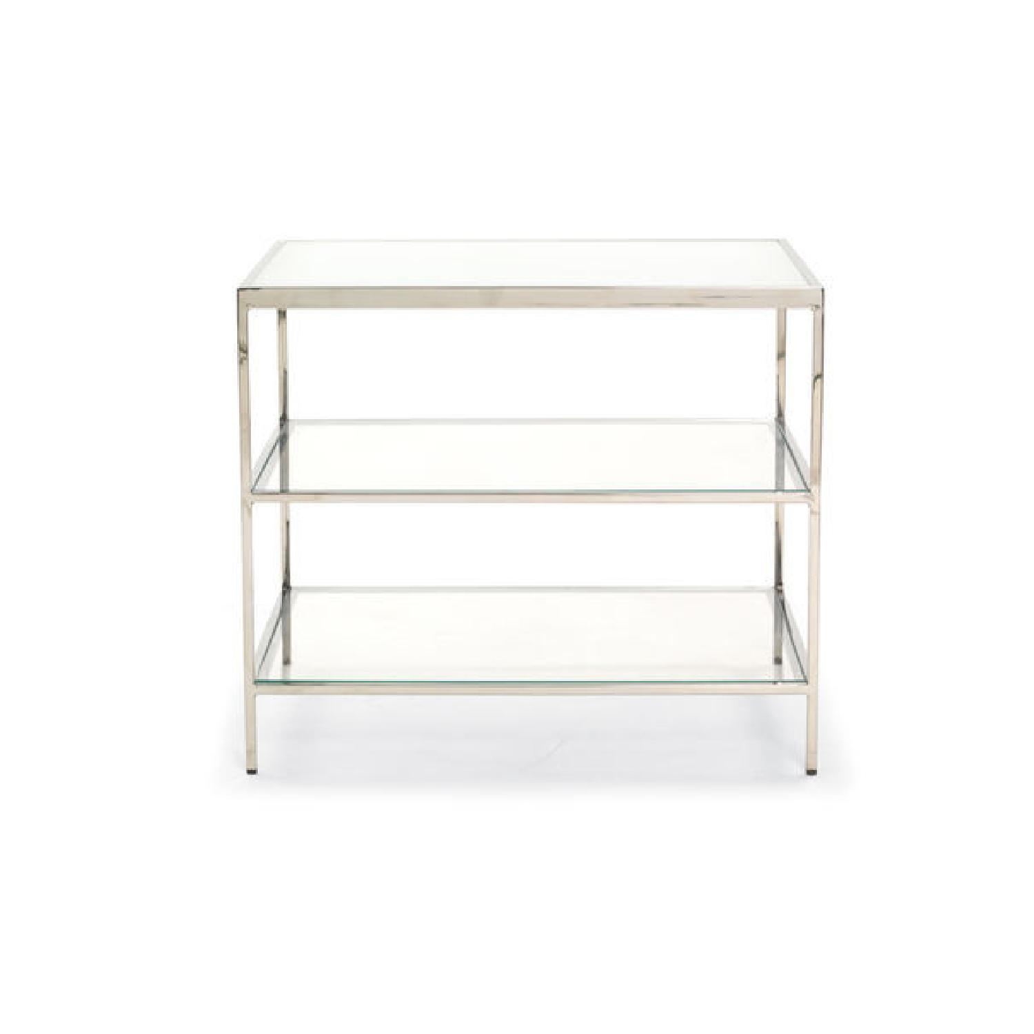 Mitchell Gold + Bob Williams Manning Glass Side Table - image-1