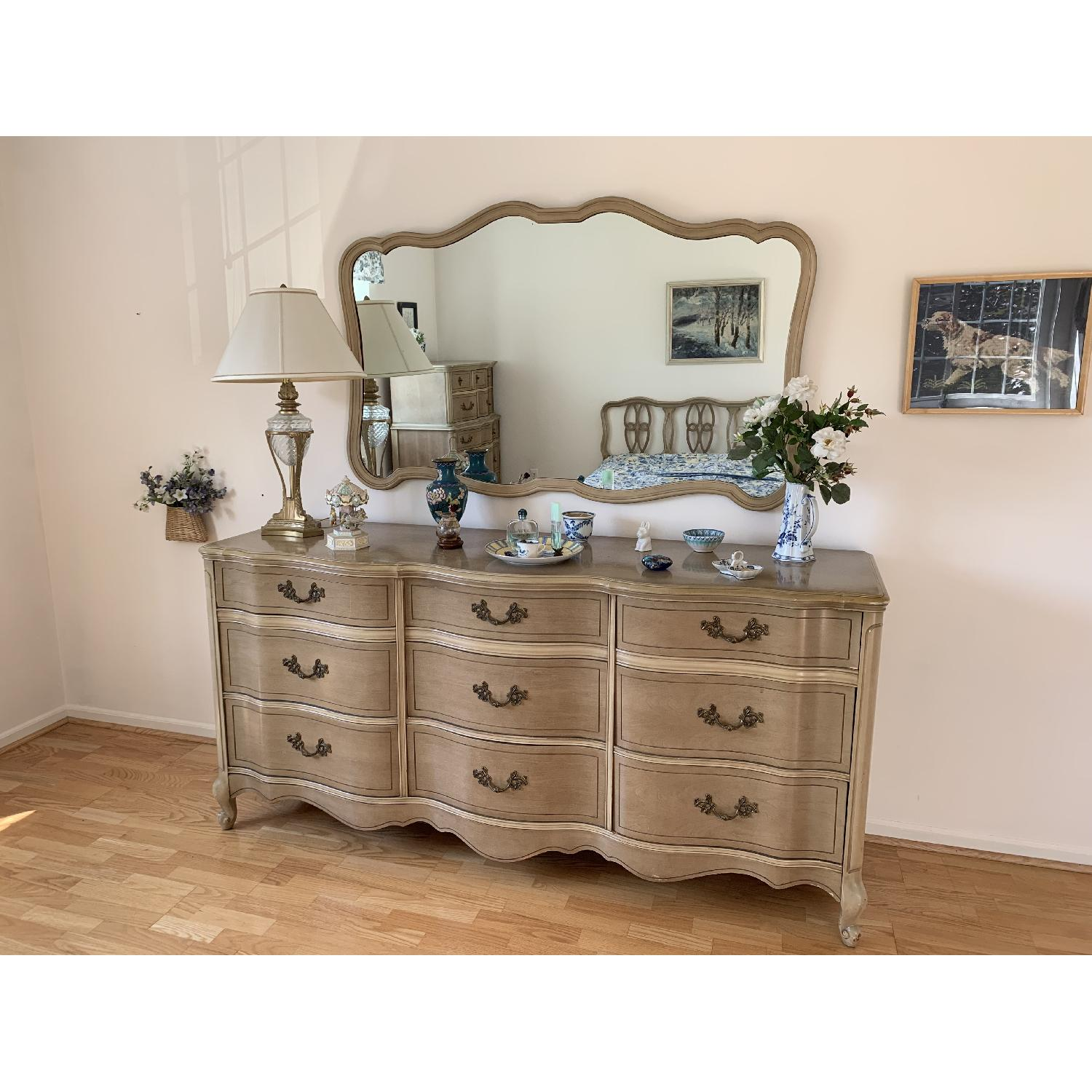 Vintage French Country Mirror - image-1