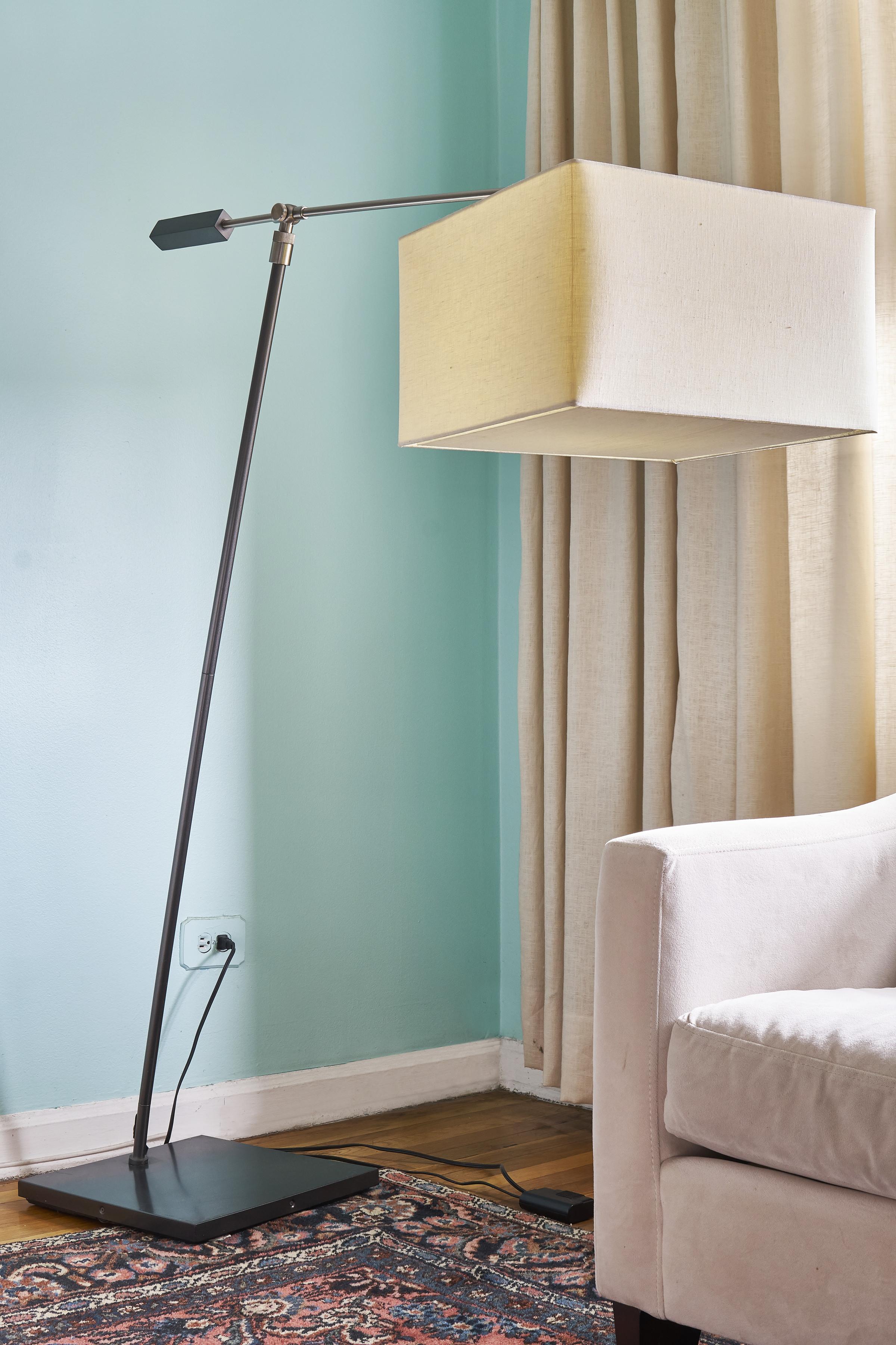 CB2 Cantilever Floor Lamp