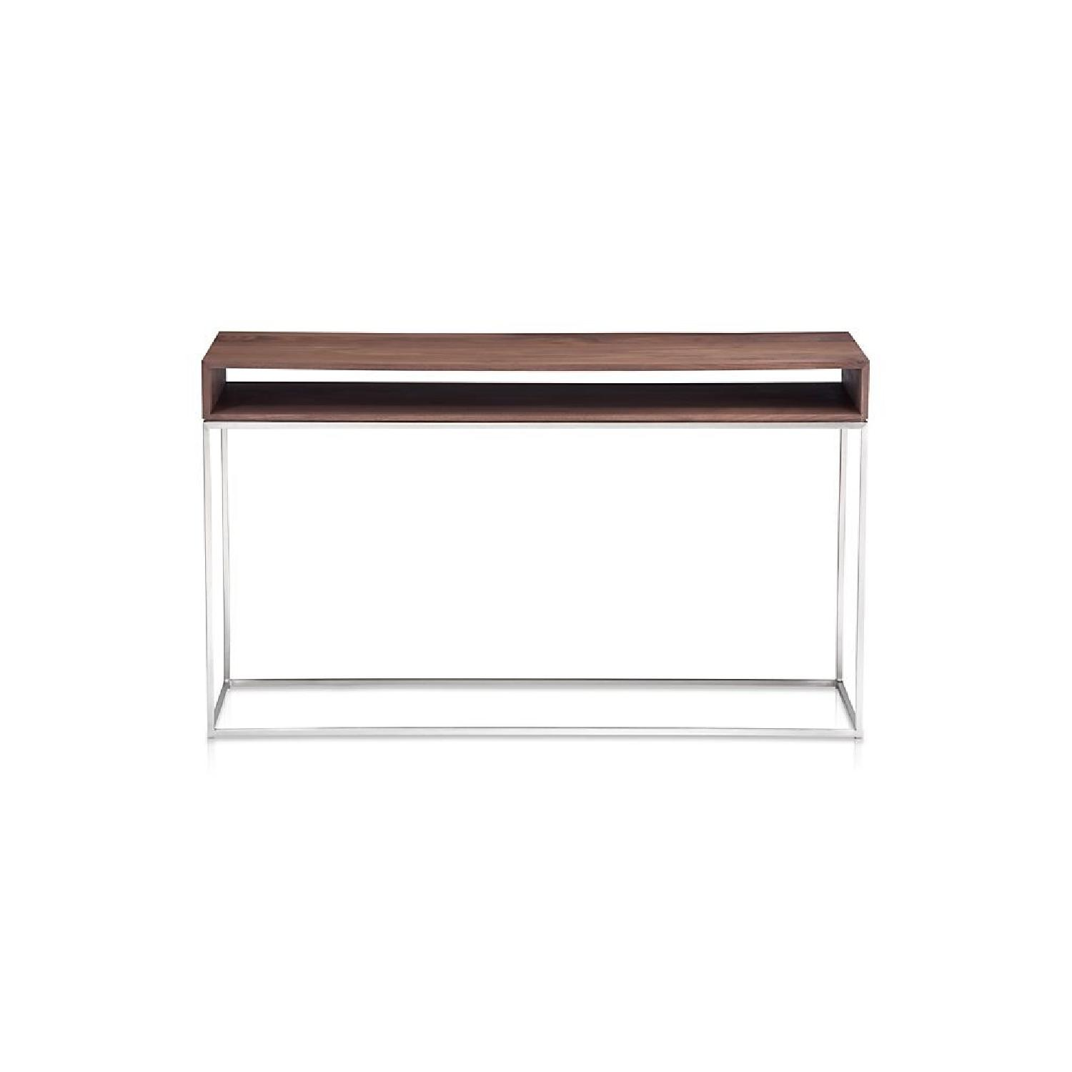 Crate & Barrel Frame Console Table - image-0