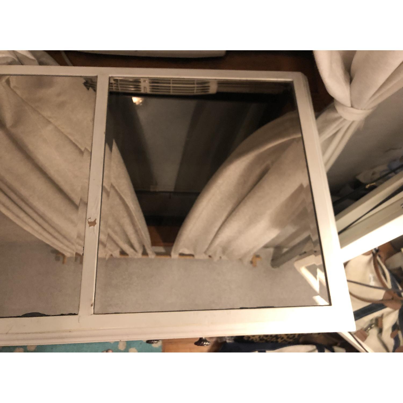 Pier 1 Hayworth Mirrored Antique White Dresser - image-4