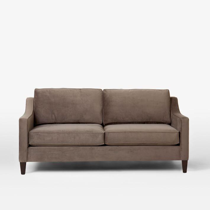West Elm Grey Paidge Sofa