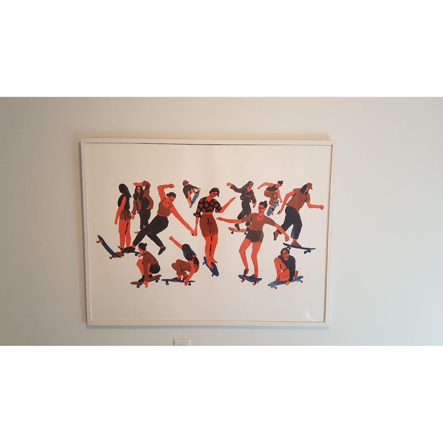 Urban Outfitters Skaters Art Print - image-1