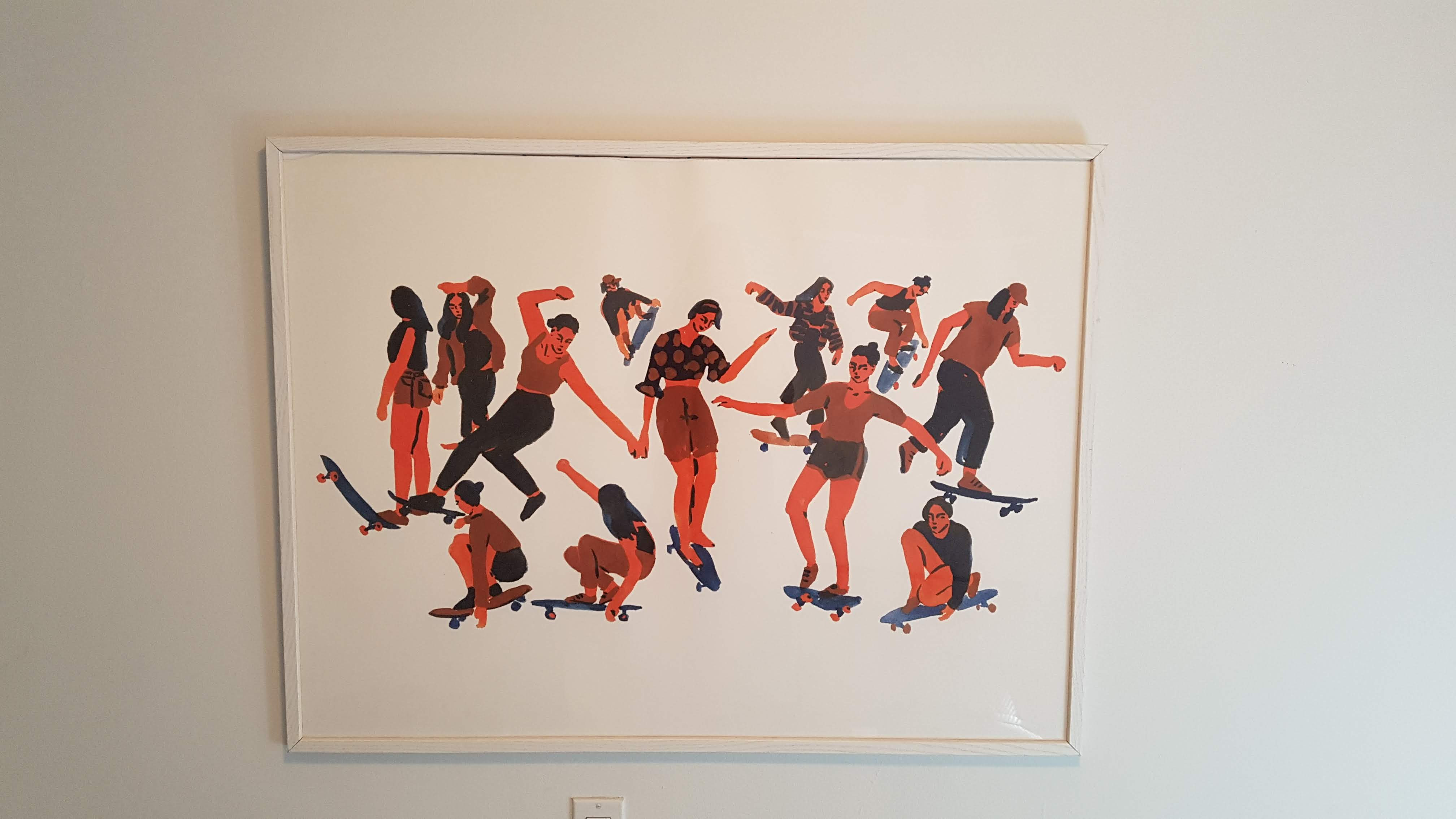Urban Outfitters Skaters Art Print