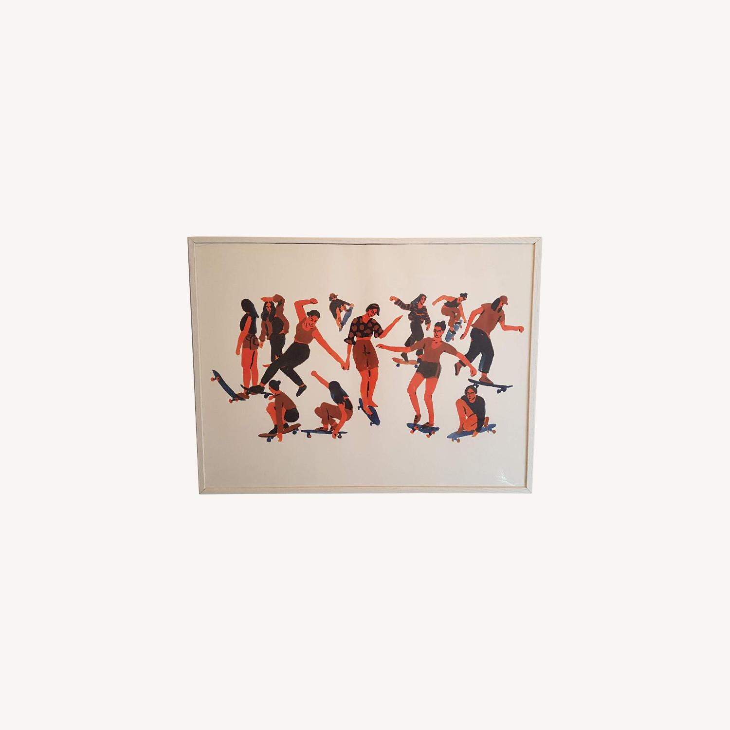 Urban Outfitters Skaters Art Print - image-0