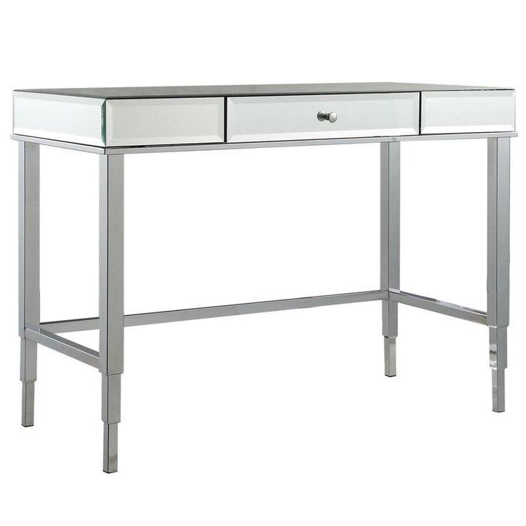 Willa Arlo Interiors Guidinha Mirrored Desk Vanity