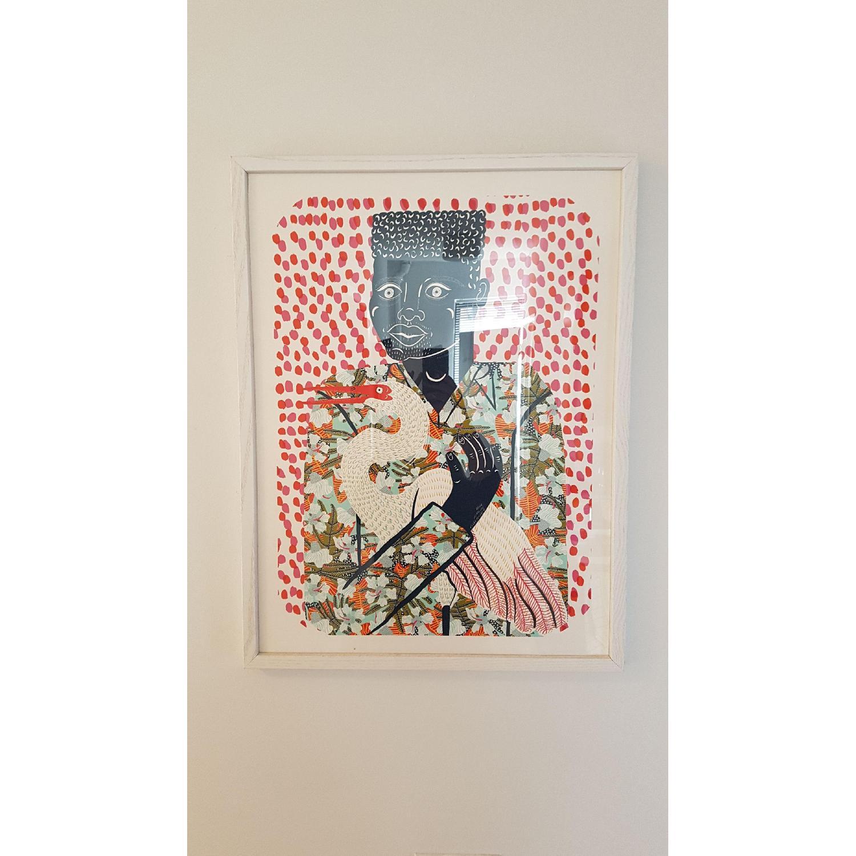 Urban Outfitters Camilla Perkins Gentleman w Egret Art Print - image-1
