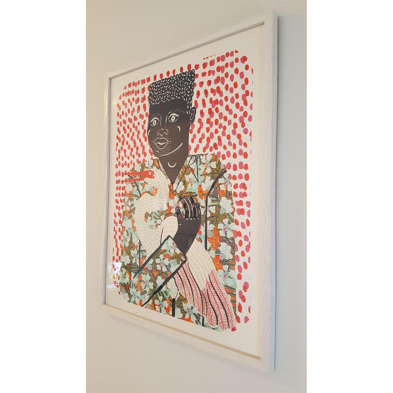 Urban Outfitters Camilla Perkins Gentleman w Egret Art Print - image-2