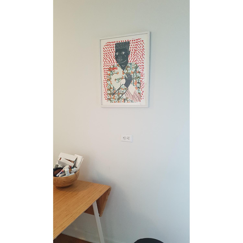 Urban Outfitters Camilla Perkins Gentleman w Egret Art Print - image-3