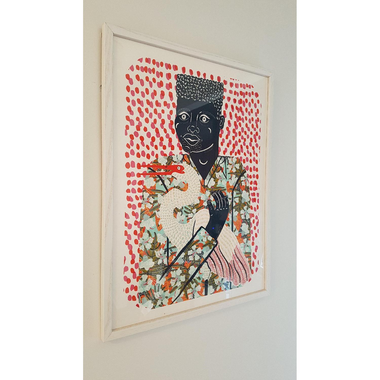 Urban Outfitters Camilla Perkins Gentleman w Egret Art Print - image-4