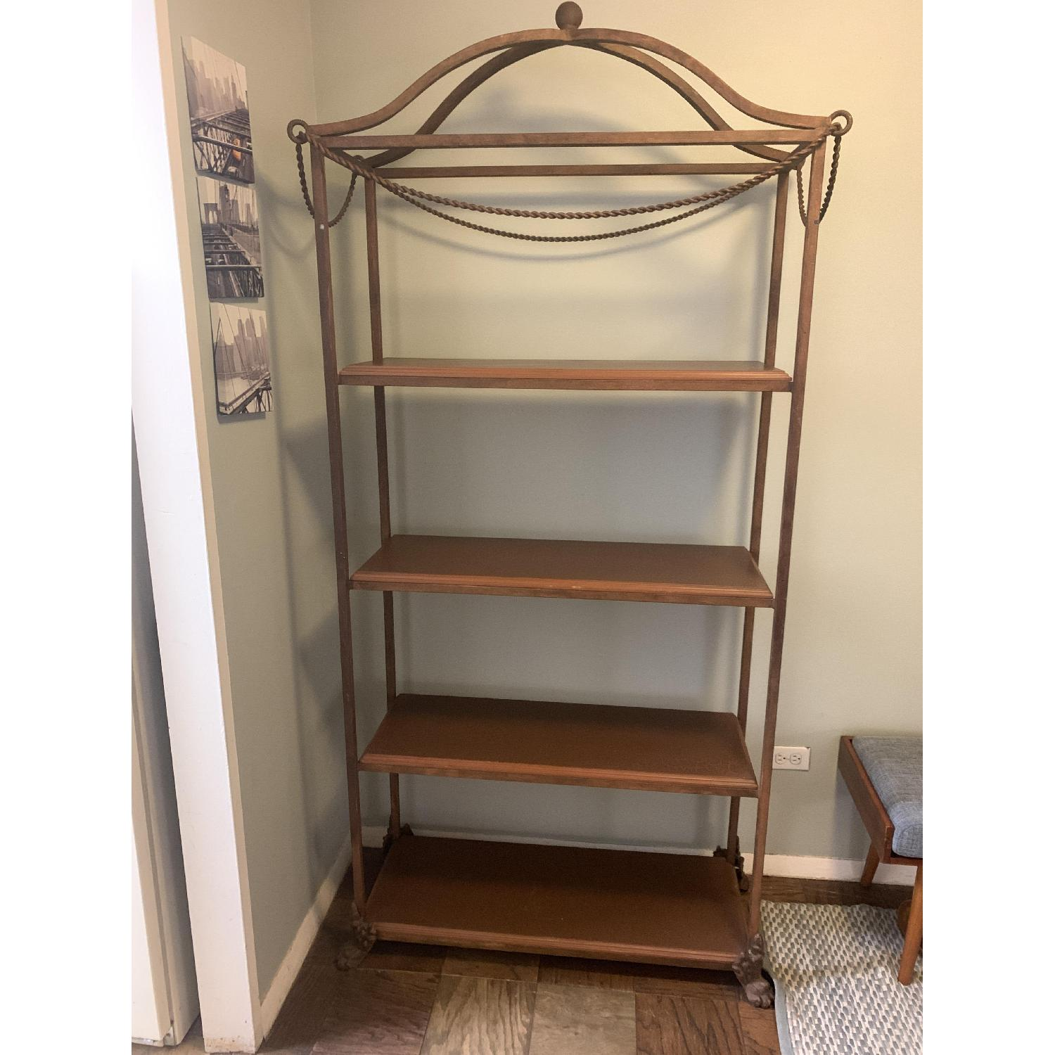 Metal Etagere/Shelving Unit - image-4