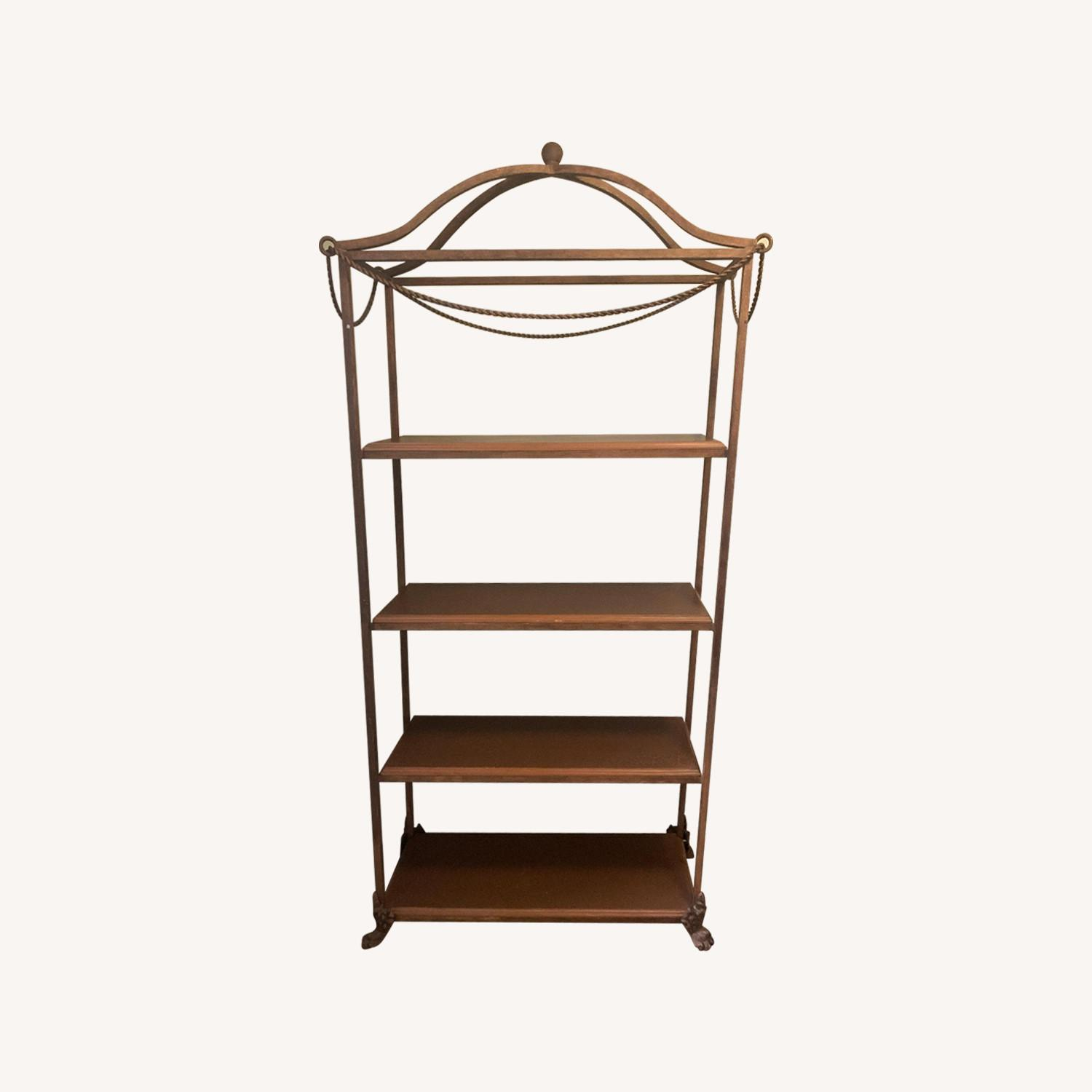 Metal Etagere/Shelving Unit - image-0
