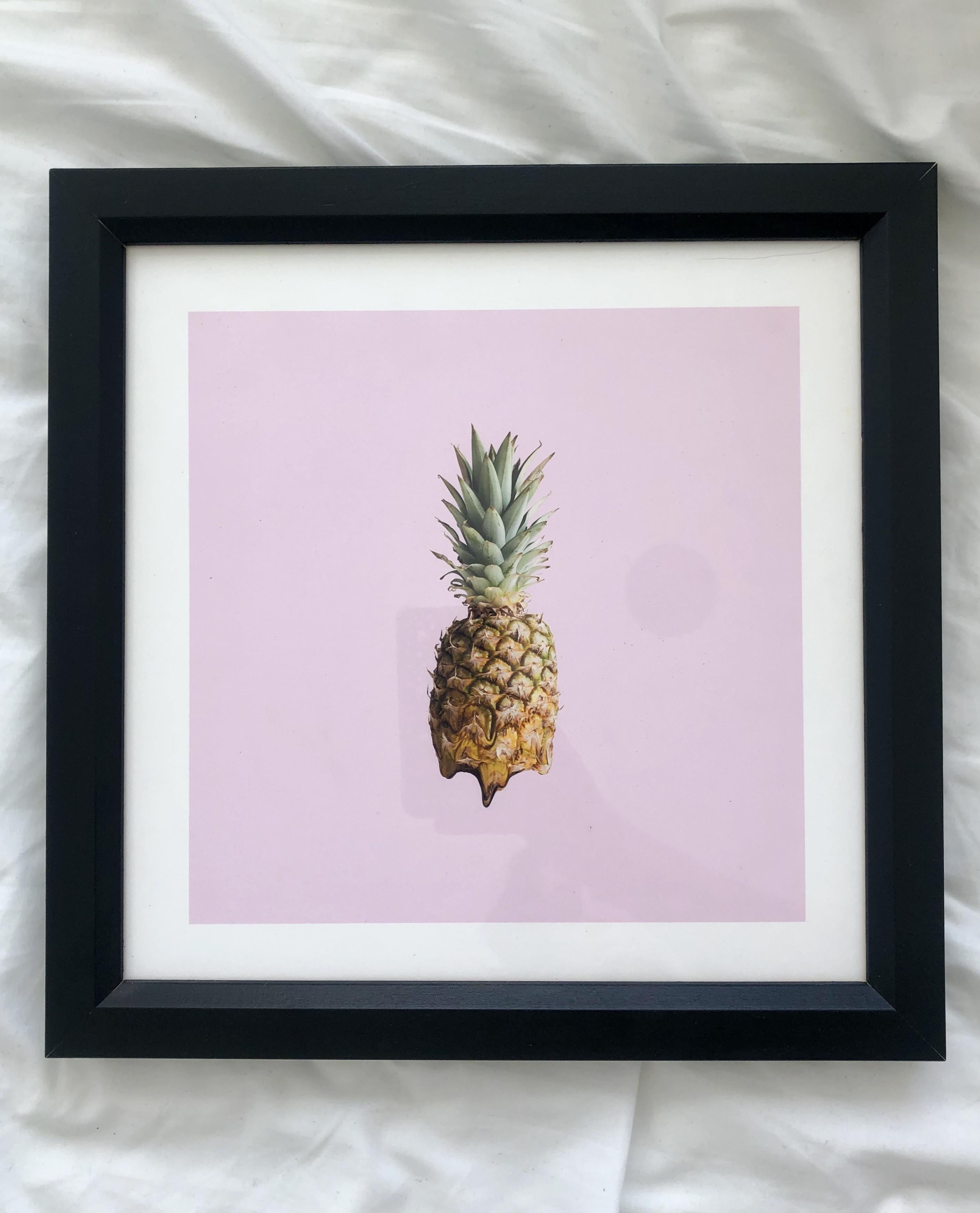Society6 Framed Pineapple Art Print
