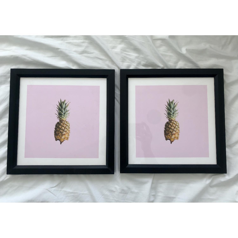 Society6 Framed Pineapple Art Print - image-3