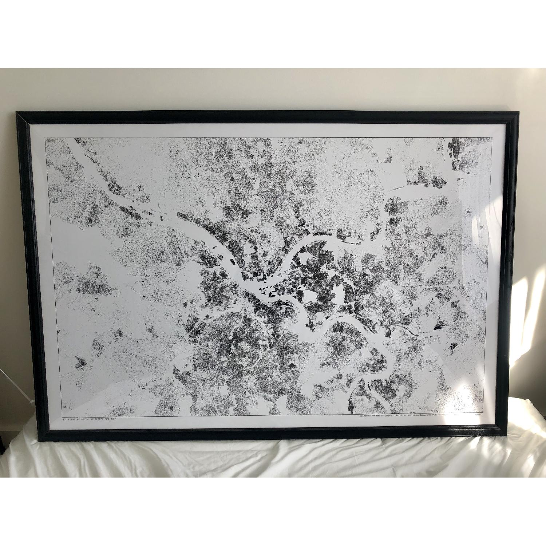 Pittsburgh Satellite Map Painting - image-6