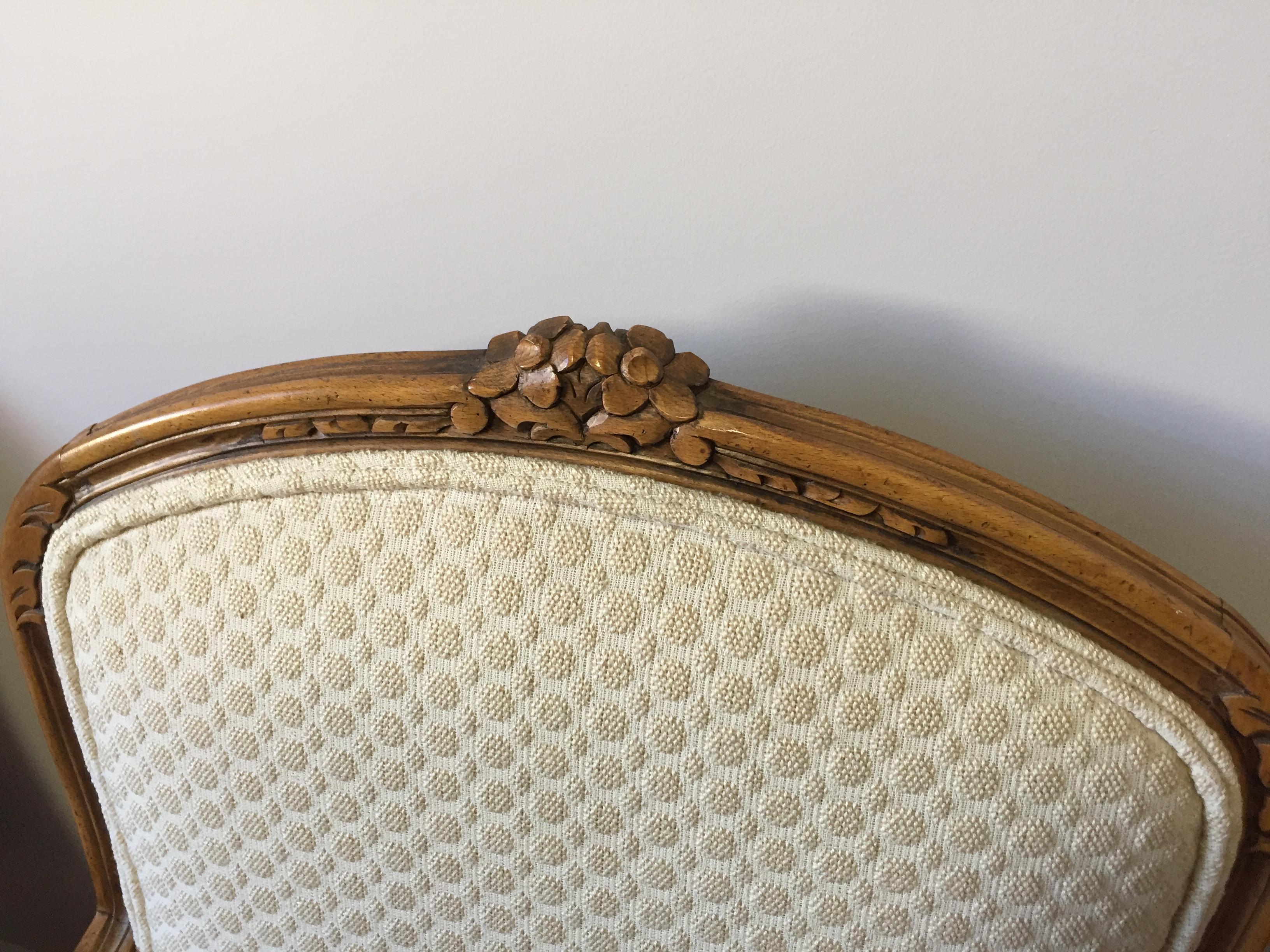 Vintage Baker Furniture Louis XV Chairs