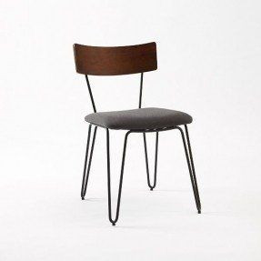 West Elm Hairpin Leg Dining Chairs